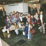 Gyerekek a microCAD' 97 kiállításon