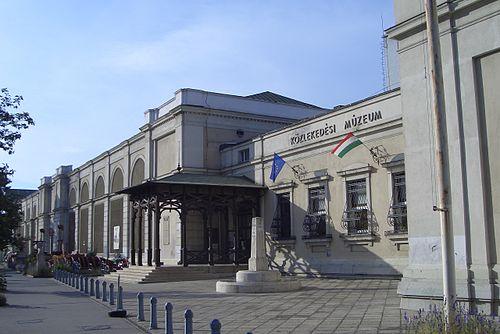 Budapesti_Közlekedési_Múzeum_Városliget_Főbejárat