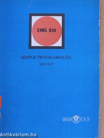EMG830SIMPLE