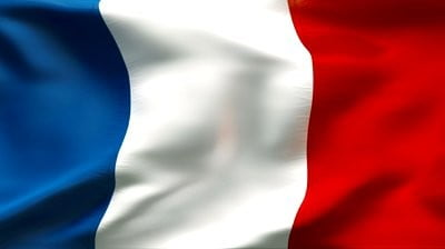 Francia zászló