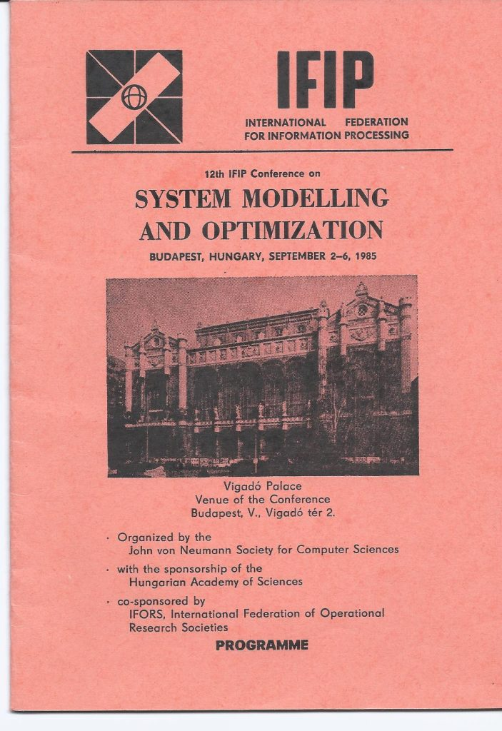 IFIP SYSTEM MODELLING_3