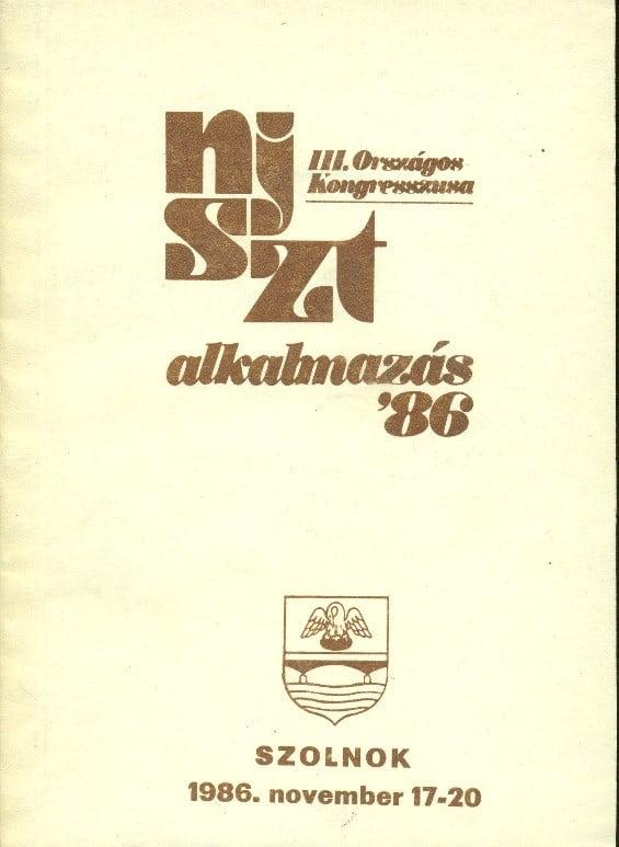 NJSZT Kongresszus 86