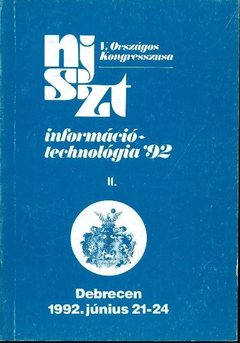 NJSZT Kongresszus 92