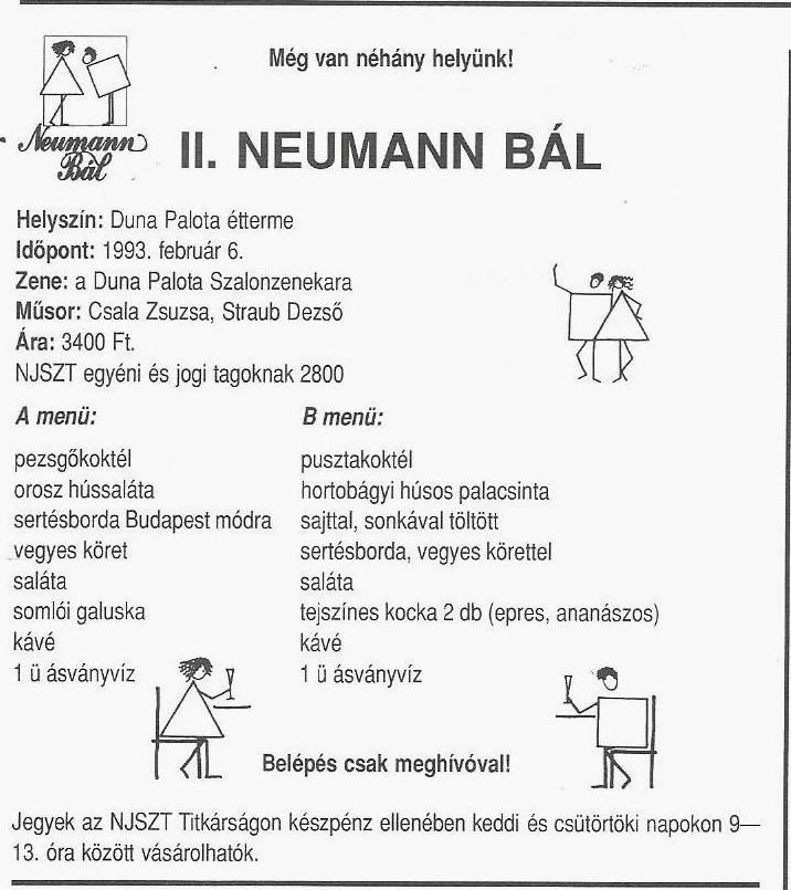 Neumann bál 93