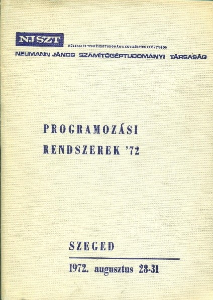 PR Rendszerek 72