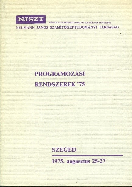PR Rendszerek 75