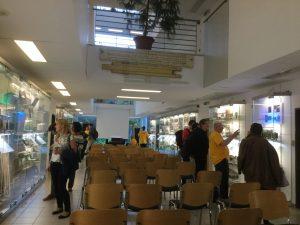 Tárlatvezetés az IT Evolúció kiállításon